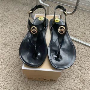 New with box Michael Kors Jelly Sandals